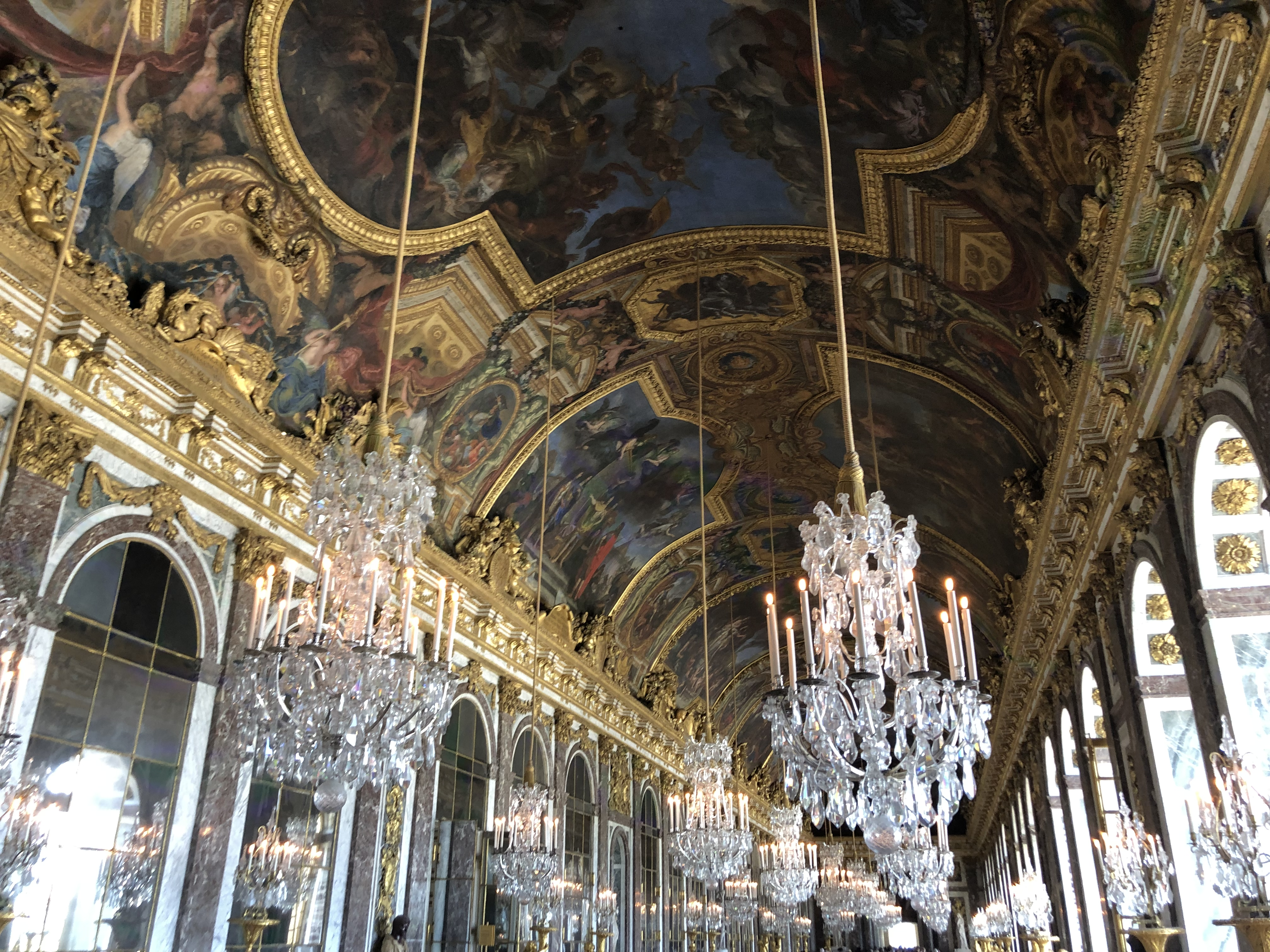 Ceiling in the Palace of Versailles